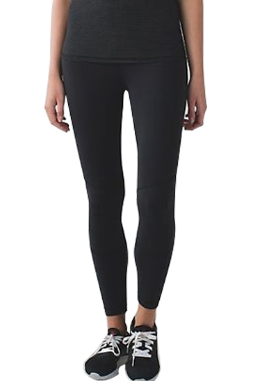 black solid color running leggings wholesale