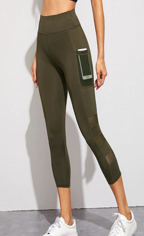 gym capri leggings